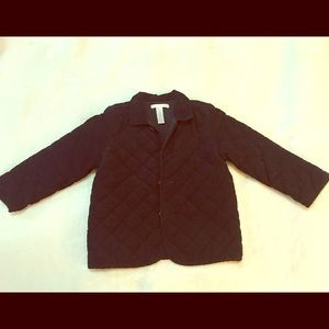 Pottery barn kids button down Coat